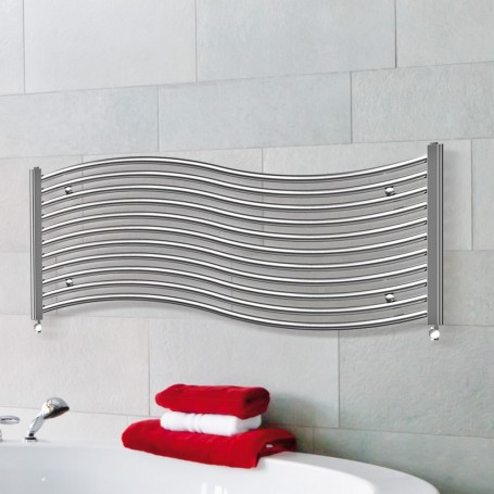radiateur s che serviette horizontal 120x50cm onda. Black Bedroom Furniture Sets. Home Design Ideas