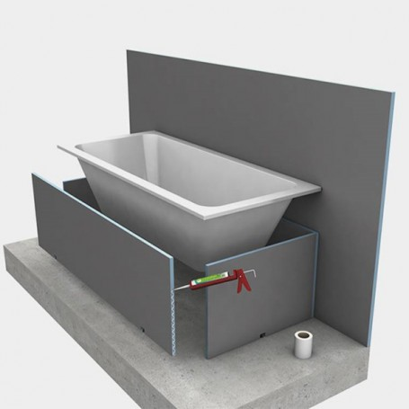 Tablier De Baignoire A Carreler Bathboard Wedi Cps Distribution