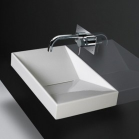 Lavabo suspendu Flux 65