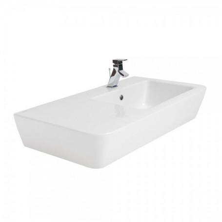 Plan vasque céramique blanc de 90cm ADVANCE -127320 121bf1f5610c