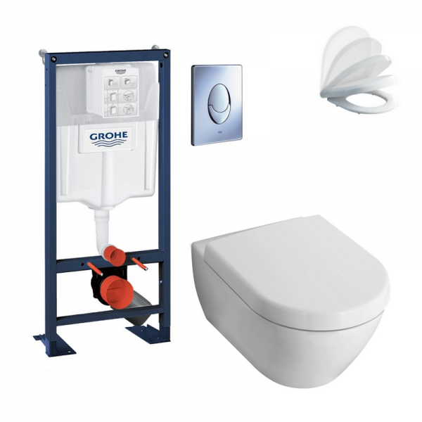 Grohe rapid sl autoportant grohe aren with grohe rapid sl - Wc suspendu dimension ...