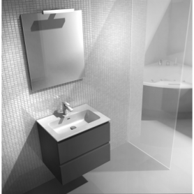 Meuble de salle de bain suspendu 60cm Collection NEXT
