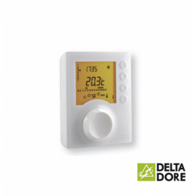 Thermostat d'ambiance programmable filaire TYBOX 127