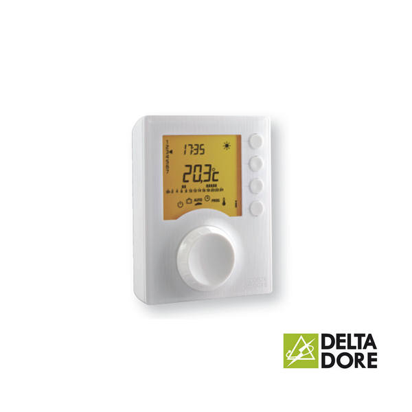 Thermostat d 39 ambiance programmable filaire tybox 127 - Thermostat d ambiance programmable filaire ...